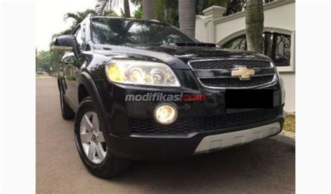 Modifikasi Chevrolet Captiva Diesel by 2008 Chevrolet Captiva 2 0 Diesel At Hitam Dp18