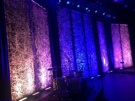 stage set splatter backdrops  crossing creative
