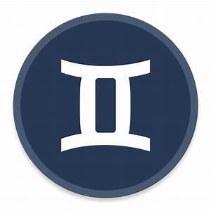 Gemini Icon | Button UI - Requests #5 Iconset | BlackVariant