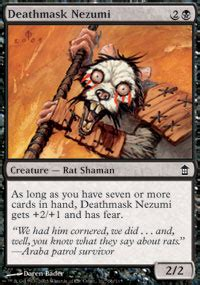 rat deck mtg tcgplayer deathmask nezumi price from saviors of kamigawa magic