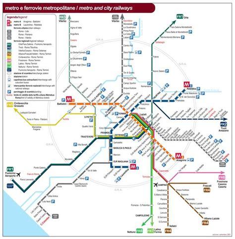 rome public transport map public transport map