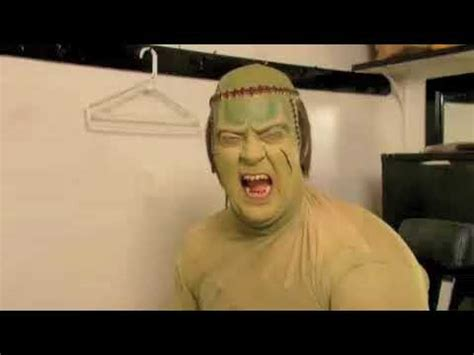 Young frankenstein (promoted as the new mel brooks musical: Young Frankenstein The Musical - The Monster Gets His Makeup! - YouTube