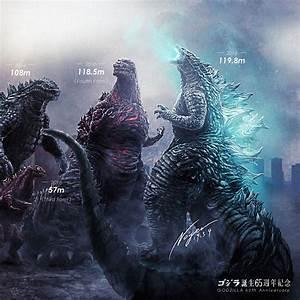 Noger Chen 1954 2019 Godzilla Size Chart