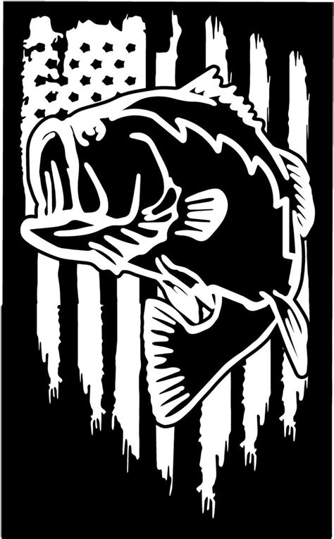 pin  fishing decals