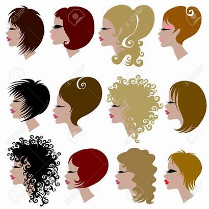 Curly Hair Clipart Vector Styles Theme Clipground