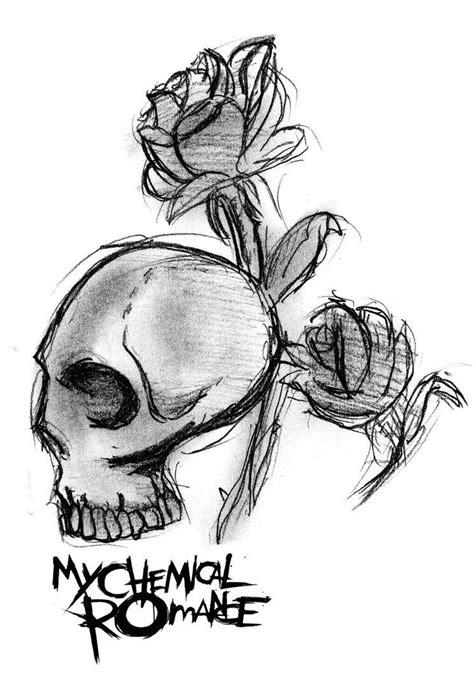My Chemical Romance Skull Logo by MySicknessRomance on DeviantArt | My chemical romance