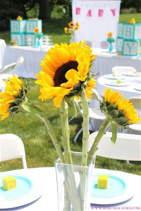 yellow  turquoise baby shower baby shower ideas