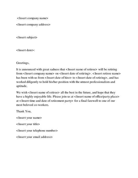 goodbye letter  coworker letters   goodbye