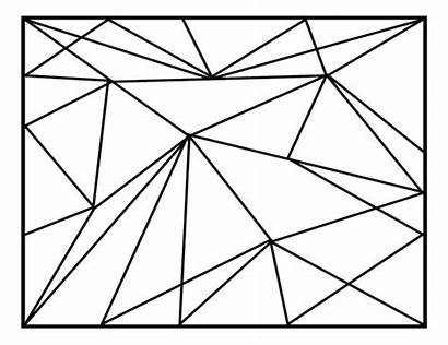 Geometric Abstract Lines Vector Backgrounds Polygonal Line