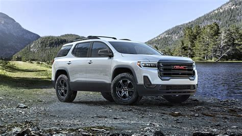 2020 Gmc At4 by Updated 2020 Gmc Acadia Debuts New Turbocharged Engine