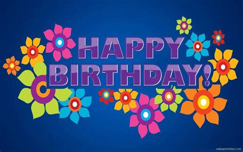 Wallpaper Of Happy Birthday by Free Birthday Wallpapers Wallpaper Cave