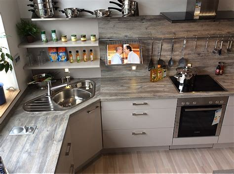Küchen In L Form by Nobilia Musterk 252 Che Moderne Xeno K 252 Che In L Form