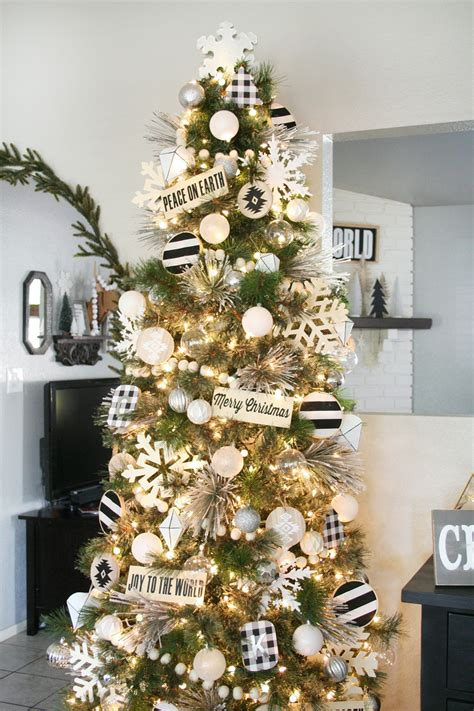 white christmas tree themes festival collections