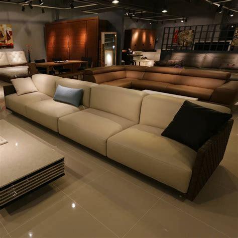 cuir pour canapé une déco design avec le canapé en cuir