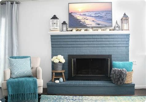 farmhouse fireplace modern farmhouse mantel high style on a low budget Modern