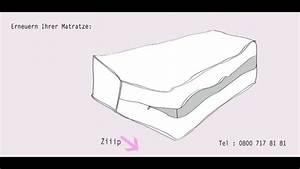 Bezug Für Schaumstoffpolster Nähen : matratzen bezug mit reissverschluss youtube ~ Buech-reservation.com Haus und Dekorationen