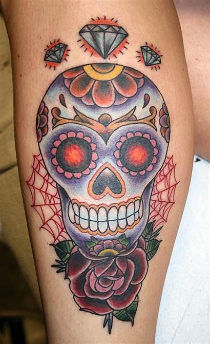Skull Sugar Tattoo Tattoos Designbump Advertisement