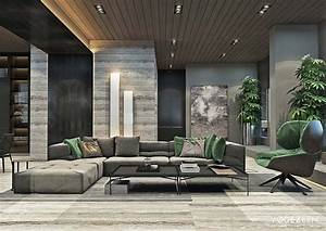 Luxurious, Apartment, Design, Arranged, By, A, Contemporary, And
