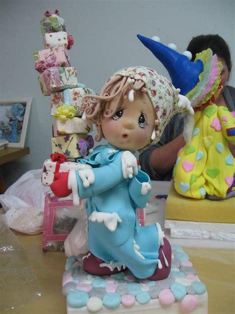 porcelana fria polymer clay pasta francesa masa fimo topper figurine modelado modelling