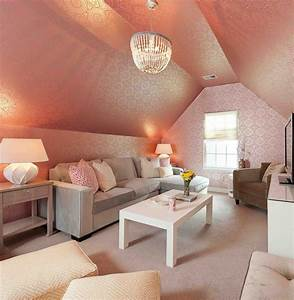 Nifty, Ideas, For, The, Attic, Living, Room
