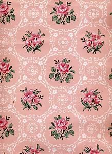 Vintage Floral Print Wallpaper | WallpaperHDC.com