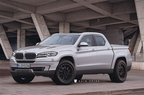 This Bmw Pickup Truck Rival To The Mercedes Benz X Class