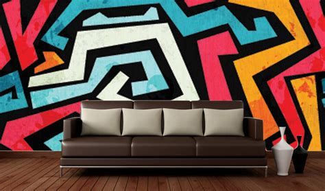 Abstract Wallpaper Room by Abstract Wallpaper Designs For