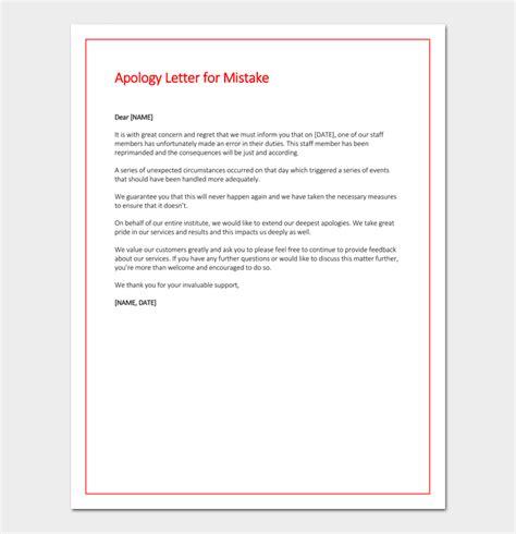 letter  explanation due  negligence notice  explain
