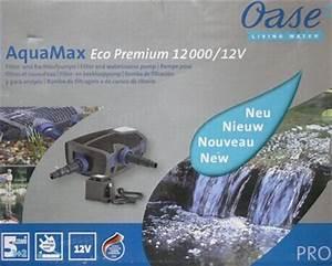 Wasserfall Pumpe Berechnen : solarteichpumpe oase aquamax 12000 eco premium 12 volt www solarmodul photovoltaik com ~ Themetempest.com Abrechnung