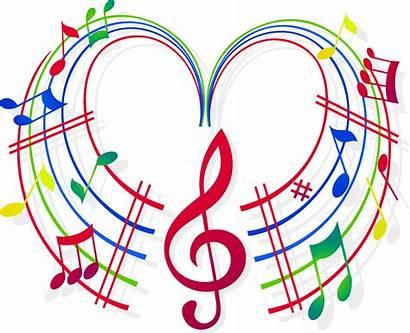 Clipart Musical Choral Transparent Choir Note Heart