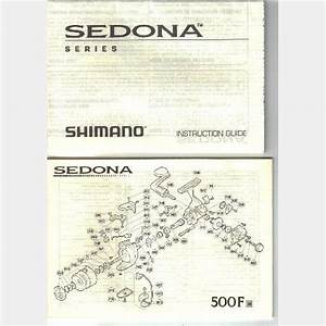 Shimano Sedona Reel Series Instruction Guide Parts List