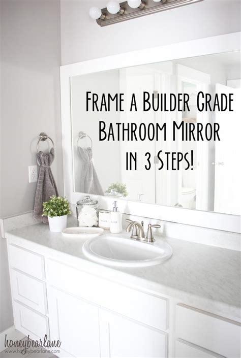 mirror bathroom a cozy farmhouse bathroom update page 5 of 6 honeybear