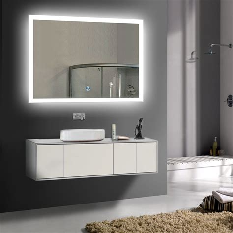 Large Bathroom Mirrors With Lights by Decoraport 36 Quot Mirror For Wall Mirror Modern Bathroom