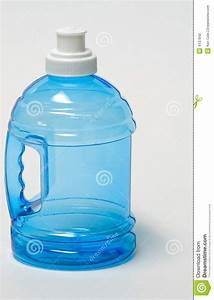 Sports Water Bottle And Handle Royalty Free Stock Photo