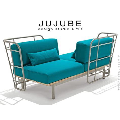 tabouret design jujube structure acier peint avec coussin d assise pour ext 233 rieur