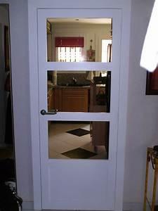 Portes intérieures, pleines et vitrées · AB menuiserie
