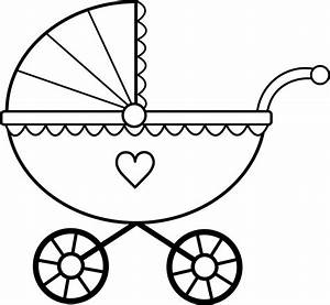 Black Baby Carriage Clipart (32+)