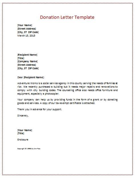donation letter template beepmunk