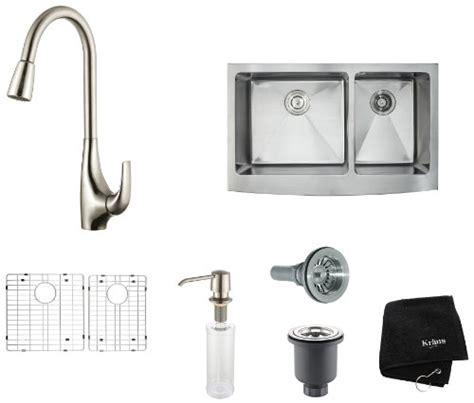 kitchen sinks farmhouse how to kraus khf203 36 kpf1621 ksd30ss 36 inch farmhouse 3010