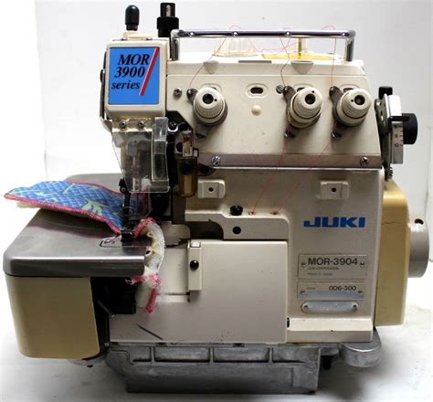 serger sewing machine juki mor 3904 serger 1 needle 3 th top feed industrial sewing machine head only ebay