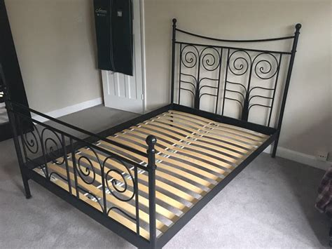 Ikea Küchenunterschrank Metall by Ikea Noresund Black Metal Bed Frame In Solihull