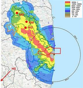 Location Of The Sampling Points In Fukushima Prefecture
