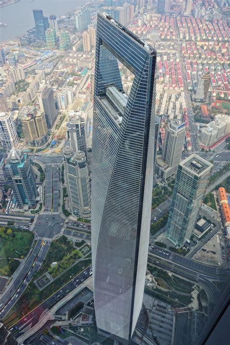 building walkway shanghai financial center wikiwand