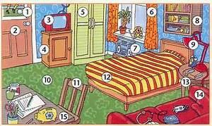 decrire la chambre lexique de la maison pinterest With description d une chambre en anglais