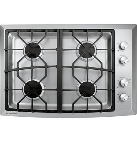 zgunsmss monogram  stainless steel gas cooktop natural gas monogram appliances