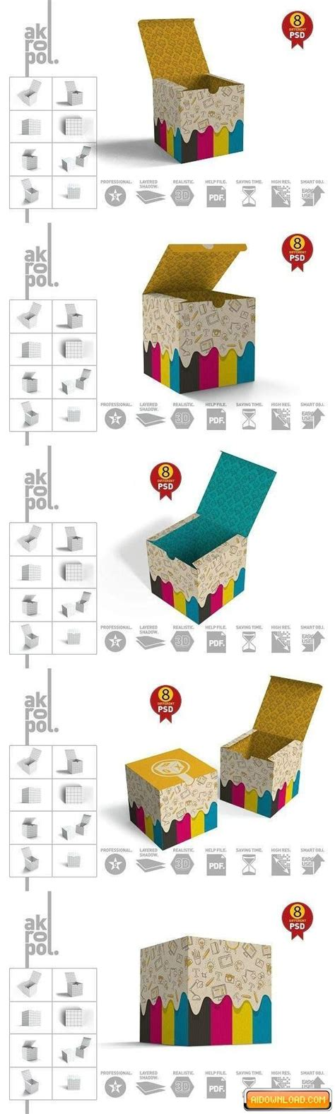 Free packaging scene mockup (psd). Package Box-02 Mockups   Free Graphic Templates, Fonts ...