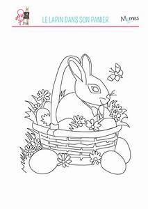 Coloriage De Paque : coloriage du lapin de p ques ~ Melissatoandfro.com Idées de Décoration