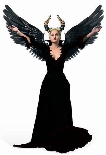 Angel Dark Transparent Clipart Deviantart Clip Female