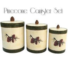 pinecone kitchen accessories 1000 images about rustic dinnerware serveware canister 1496