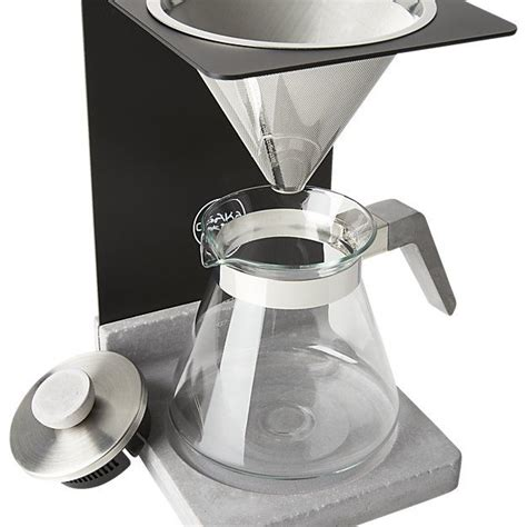 It's easy to confuse drip. Osaka Concrete Pour-Over Coffee Station | CB2 | Modern coffee makers, Coffee, Coffee station